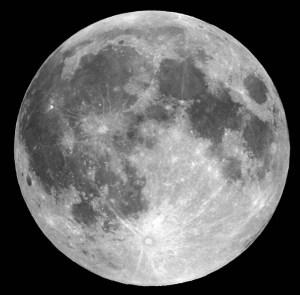 La luna es artificial Luna_mares