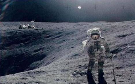La luna es artificial Apollo-2