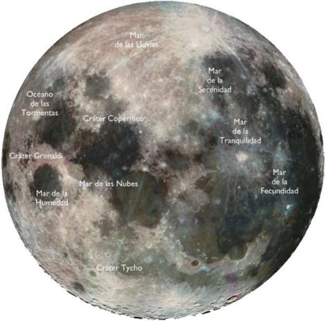 La luna es artificial Luna-mares