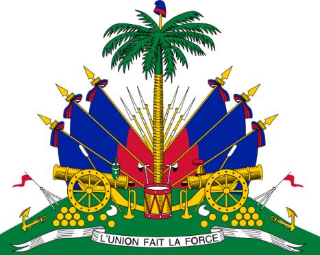 """Un fuerte terremoto, de magnitud 7, provoca una """"catást - Página 2 Escudo_haiti"""