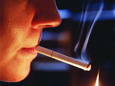Ha dejado a fumar y sudo mucho por las noches